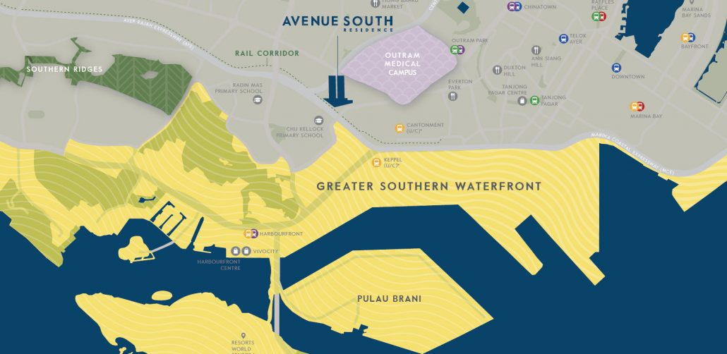 Avenue South Residence by UOL, KLC and UIC next to the Greater Southern Waterfront Location