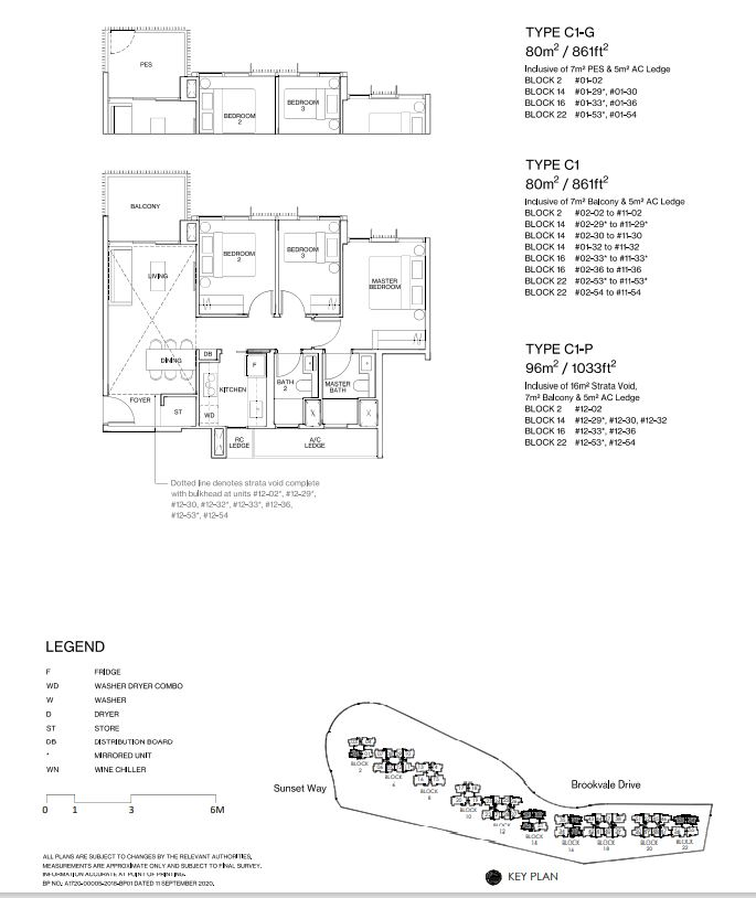 Midwood the most affordable condo near a MRT Floor Plan