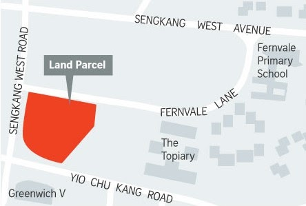 PARC GREENWICH BY FRASER PROPERTY AND NEAR TO FERNVALE LRT