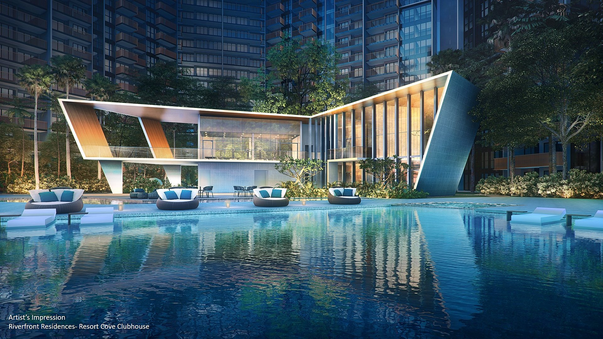 RIVERFRONT RESIDENCES WITH GREAT SCENERY AND AFFORDABLE PRICE