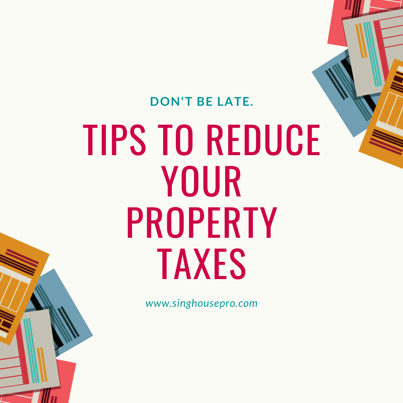 Tips to Reduce your Property Taxes [Easy Steps]