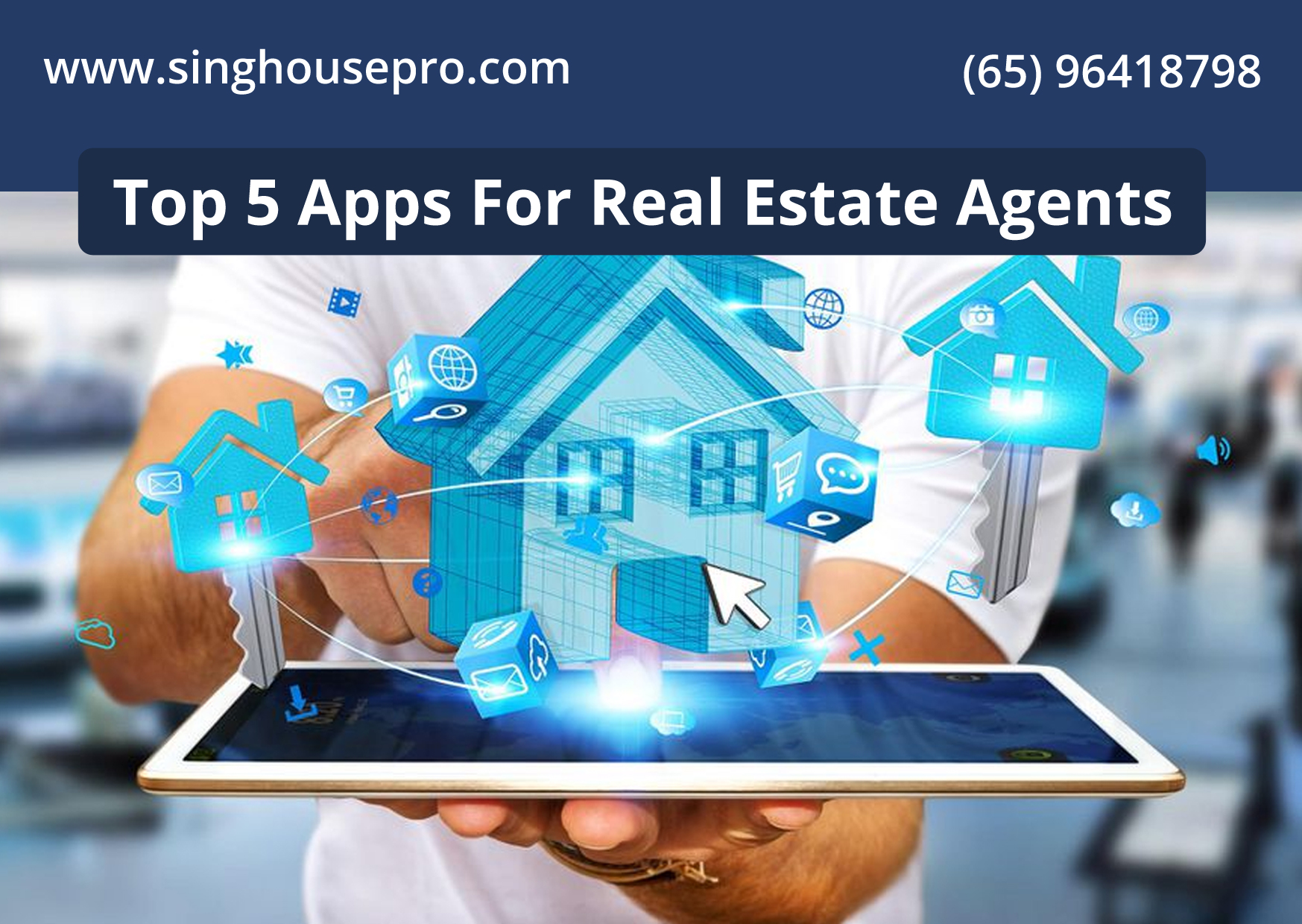 Top 5 Apps For Real Estate Agents