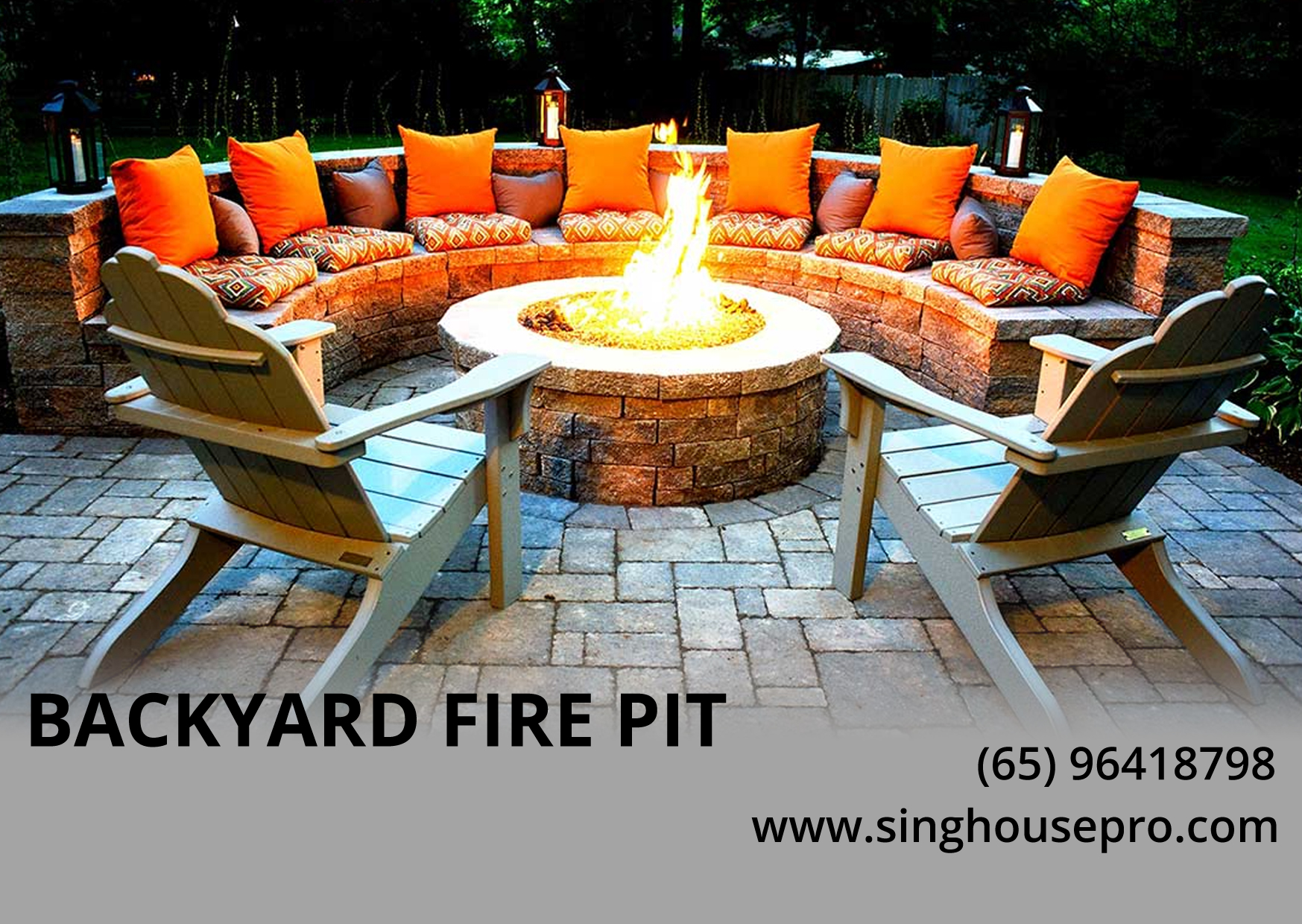 Easy Steps To Build a Backyard Fire Pit