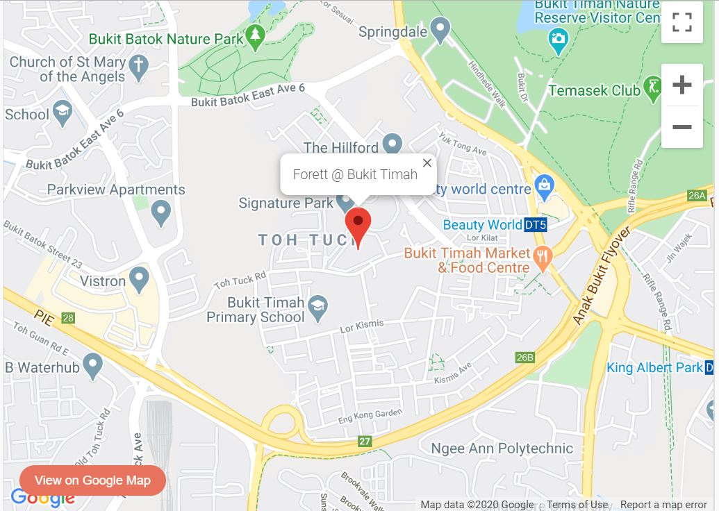 Forett At Bukit Timah by Qingjian Realty & Perennial Real Estate Holdings Limited within 1km to Pei Hwa Presbyterian Pri Sch Location