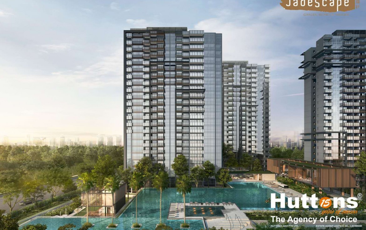 JadeScape by Qingjian Realty within 4 mins walk to Marymount MRT